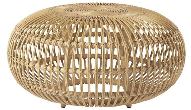 A rattan coffee table from Urban Country