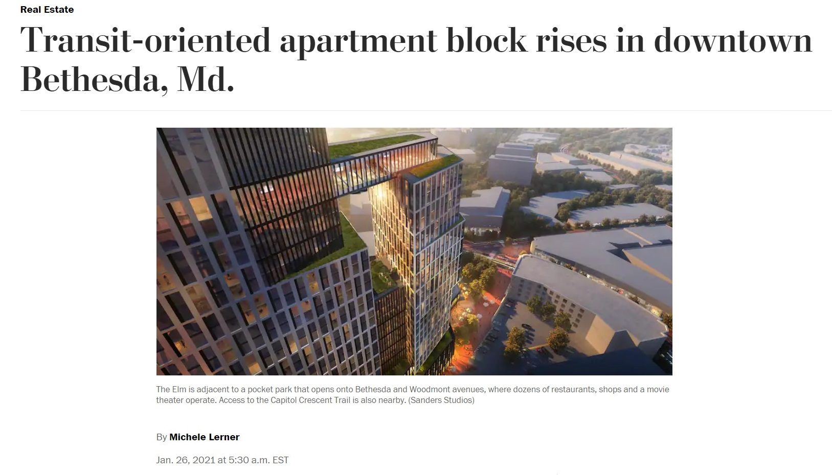 The Elm Featured in The Washington Post thumbnail